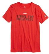 Nike Boy's Lebron Strive Dri-Fit T-Shirt