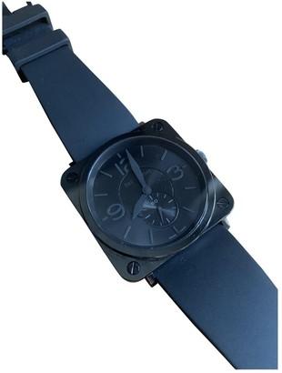 Bell & Ross BRS Ceramic Black Black Ceramic Watches