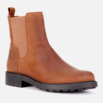 Clarks Women's Orinoco 2 Top Leather Chelsea Boots