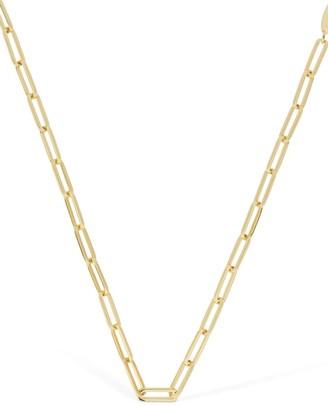 FEDERICA TOSI Lace Square Chain Necklace
