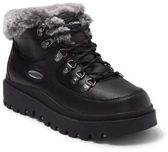 Skechers Shindigs Lookin Kool Faux Fur Detail Boot