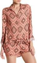 PJ Salvage Printed Hi-Lo Shirt