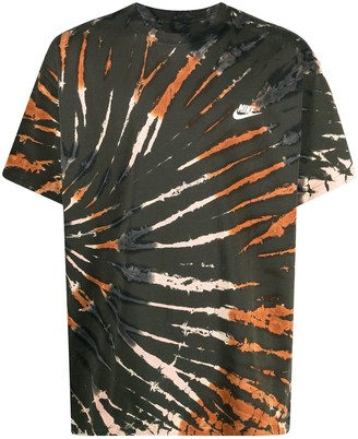 Nike tie dye-print short-sleeved T-shirt