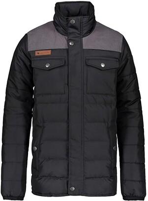 Obermeyer Bennett Down Jacket (Little Kids/Big Kids) (Black) Boy's Jacket