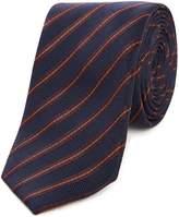 Kenneth Cole Liberty Stripe Silk Tie