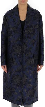 Prada Patterned Trench Coat