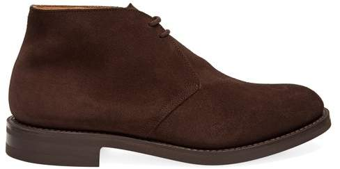 Church's Ryder 3 Suede Chukka Boots - Mens - Brown