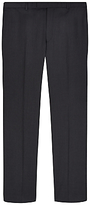 Jaeger Wool Slim Fit Suit Trousers, Charcoal