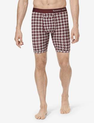 Tommy John Cool Cotton Boxer Brief, Fall Print
