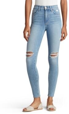 Joe's Jeans Wallflower Charlie Distressed Skinny-Leg Jeans