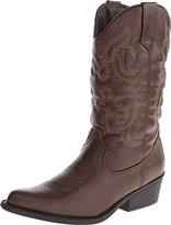 Madden-Girl Women's Sanguine Wide Calf Western Boot