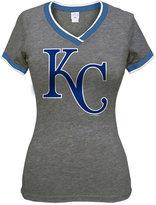 5th & Ocean Women's Kansas City Royals Triple Flock T-Shirt