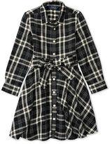 Ralph Lauren Plaid Flannel Shirtdress