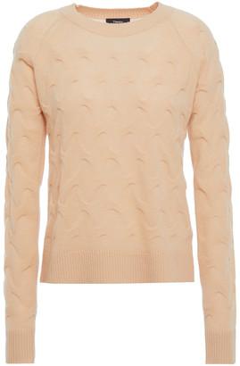 Theory Jacquard-knit Cashmere Sweater