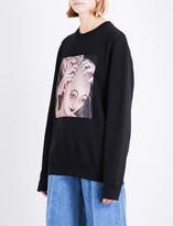Yang Li Samizdat cotton-jersey sweatshirt