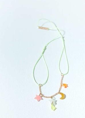 Mint Velvet Meri Meri Moon & Star Necklace