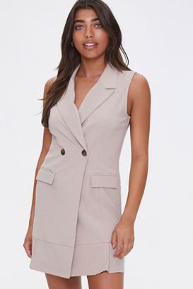 Forever 21 Sleeveless Blazer Dress