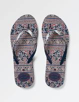 Fat Face Pease Printed Flip Flops