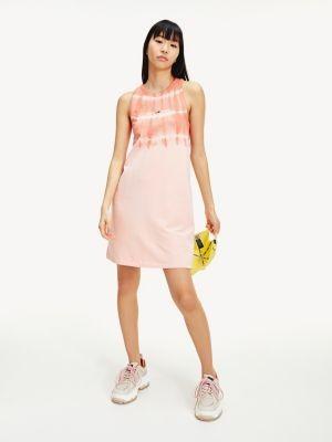 Tommy Hilfiger Organic Cotton Tie-Dye Tank Dress