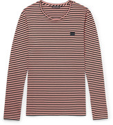 Acne Studios - Striped Cotton-jersey T-shirt