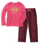 Juicy Couture Girls' 2pc Pajama Set.