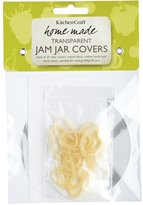 Kitchen Craft Home Made 1lbs Jam Pot Cover Kit, Pack of Twenty Four