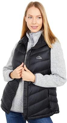 L.L. Bean L.L.Bean Ultralight 850 Down Vest (Black) Women's Clothing