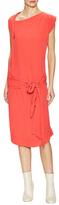 Vivienne Westwood Asymmetrical Neck Midi Dress