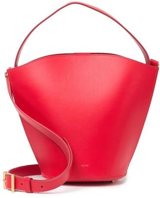 Flynn Monty Leather Bucket Bag