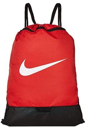 Nike Brasilia Gym Sack - 9.0 (Black/Black/White) Backpack Bags
