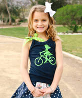 Beary Basics Navy Bike Tank - Infant, Toddler & Girls