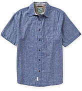 Woolrich Mainroad Eco Rich Short-Sleeve Woven Shirt
