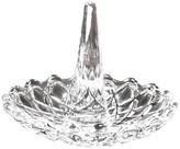 Jay Import Glass Clear Round Ring Holder