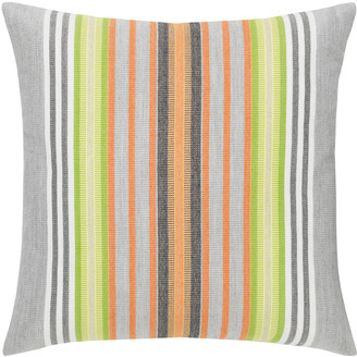 Elaine Smith Spring Stripe Sunbrella Pillow