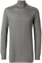 Rick Owens oversized turtleneck top - men - Cashmere - One Size