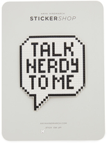 Anya Hindmarch Oversized Talk Nerdy to Me Sticker