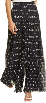 Max Mara Balocco Silk-Lined Pant