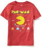 "Old Navy Pac-Man ""Ready! High Score"" Tee for Boys"