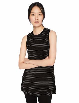 Daily Ritual Amazon Brand Women's Jersey Muscle-Sleeve Swing Tunic