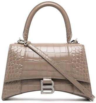 Balenciaga Hourglass S top-handle tote bag