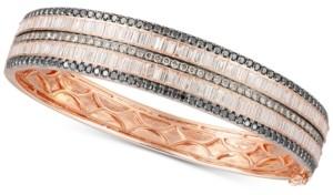 LeVian Le Vian Exotic Diamond Bangle Bracelet (4-7/8 ct. t.w.) in 14k Rose Gold