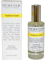Demeter Vanilla Ice Cream by for Women Pick-Me Up Cologne Spray, 4.0-Ounce