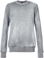 Avant Toi bleached effect sweatshirt - men - Cotton - L