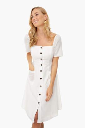 Astr White Ramona Dress