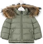 Il Gufo padded coat - kids - Feather Down/Polyamide/Feather/Raccoon Dog - 12 mth