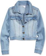 Epic Threads Ruffled Denim Jacket, Big Girls, Created for Macy's