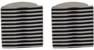 Tateossian Ridged Two-Tone Cufflinks