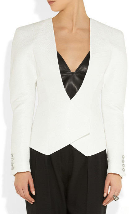 Balmain Jacquard blazer