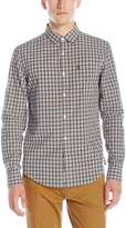 Original Penguin Men's Long Sleeve P55 Plaid Shirt