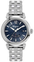 Salvatore Ferragamo Men's Feroni GMT Quartz Stainless Steel Bracelet Watch
